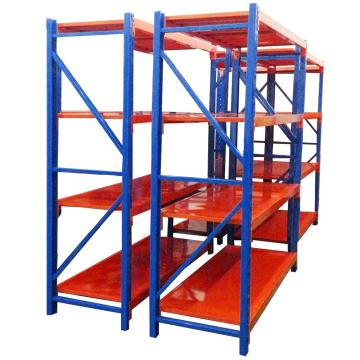 Economical Factory Warehouse Folding Heavy Duty Medium Metal Strong Hot Sale Racks Durable Shelf Display Goods Slab Rack