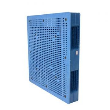 1000*800mm Single faced racking heavy duty standard size durable plastic pallet