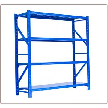light duty metallic shelf storage warehouse racking tube steel pallet rack